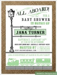 78 Best ideas about Train Baby Showers on Pinterest ...