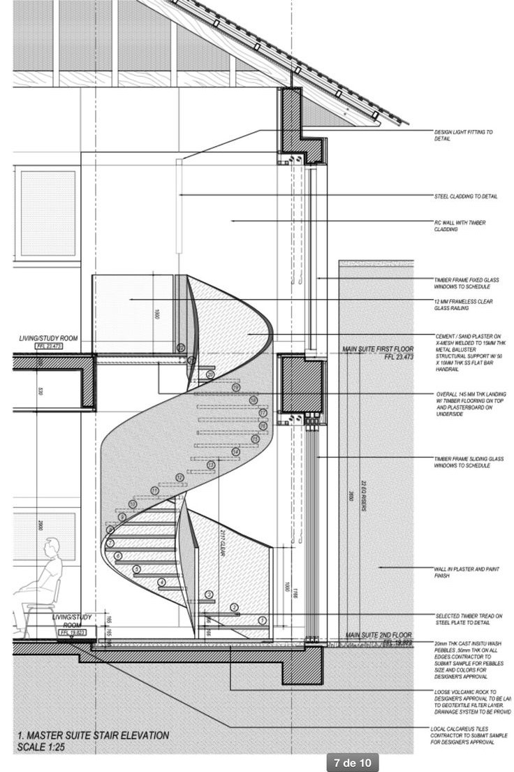 Architecture Detail Facade Structure 10 Handpicked | Helical Staircase Structural Design