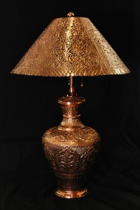 Copper lamps, Persian and Lamps on Pinterest