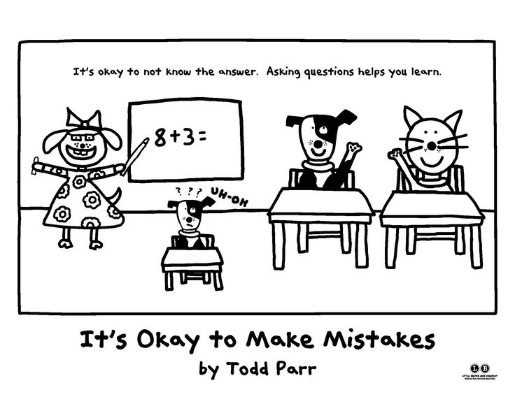 Fill in the blanks...with color! [It's Okay to Make
