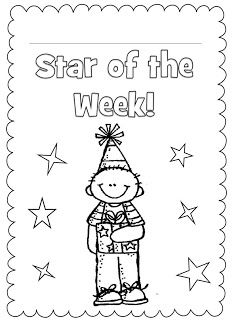 18 best images about Classroom Star Of The Week on