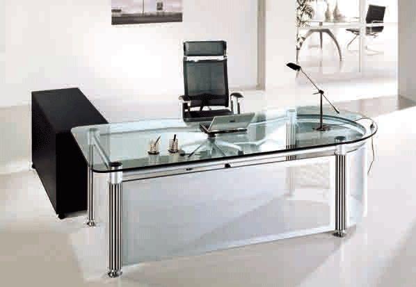 Best 20+ Glass Office Desk ideas on Pinterest