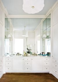 Atlanta homes, Mirror and Sconces on Pinterest