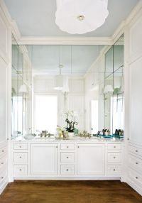 Atlanta homes, Mirror and Sconces on Pinterest