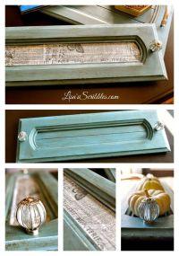 From Drab to Fab - Cabinet Door Repurposing | Centerpieces ...