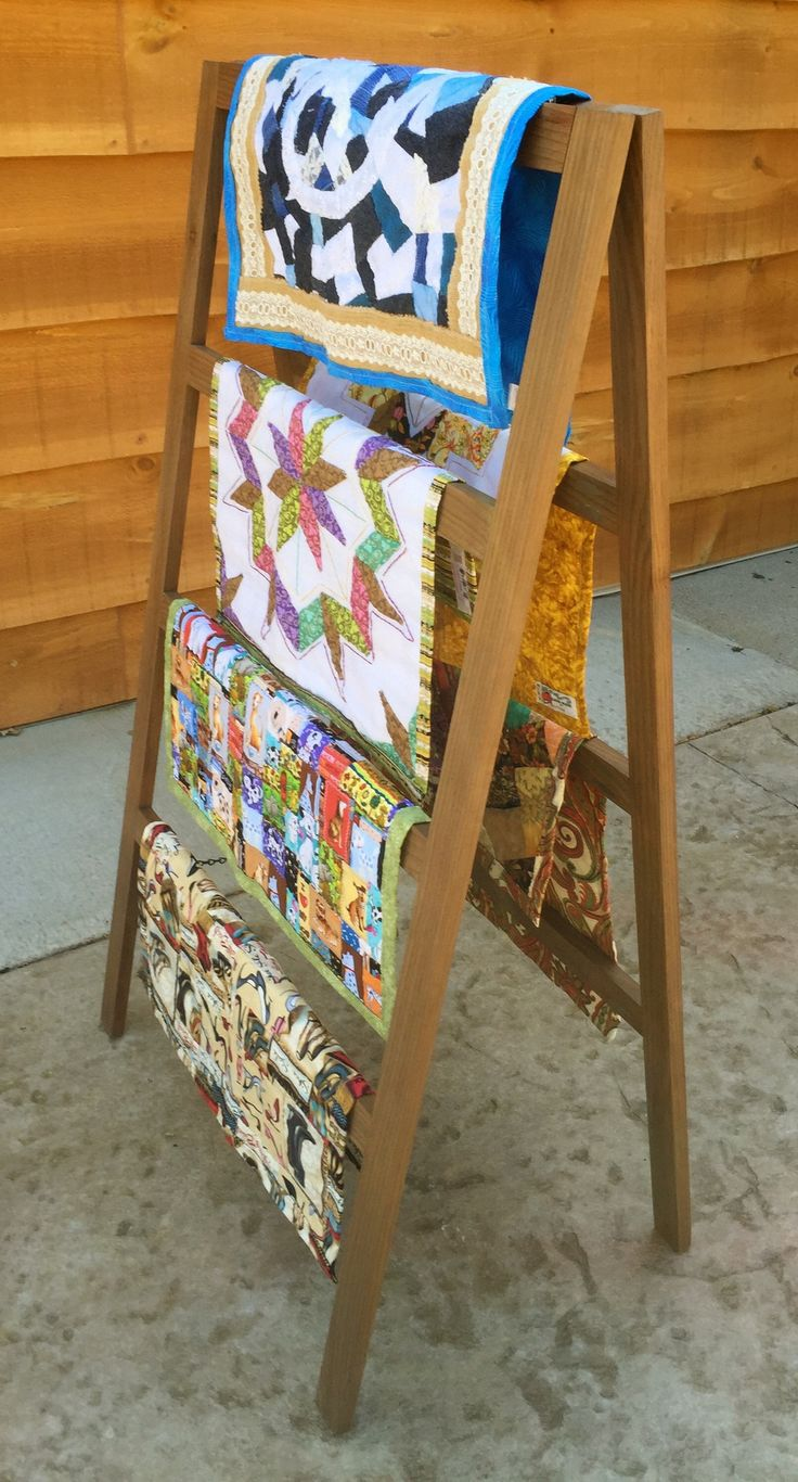 1000+ ideas about Quilt Ladder on Pinterest