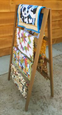 1000+ ideas about Quilt Ladder on Pinterest