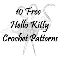 244 best images about CROCHET HELLO KITTY & ALOHA KITTY on