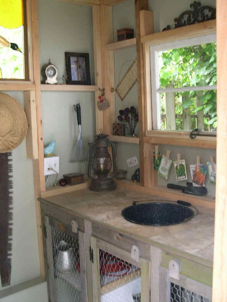 25 Best Ideas About Garden Shed Interiors On Pinterest Potting