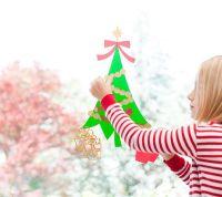 Christmas Tree Window Cling   Cricut Ideas from Bloggers ...
