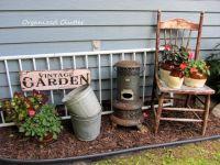 Best 25+ Rustic garden decor ideas on Pinterest
