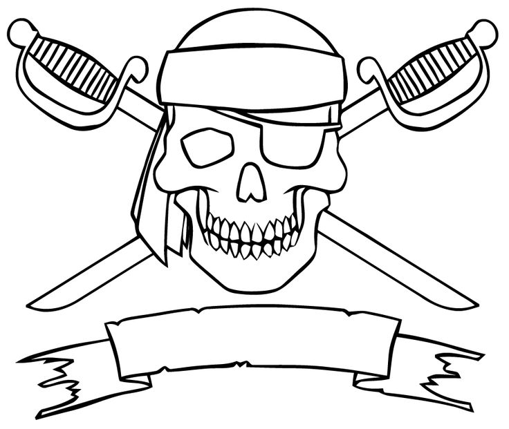 464 best images about coloriage pirates on Pinterest