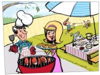 184 best images about bbq cartoons on Pinterest | Clip art ...