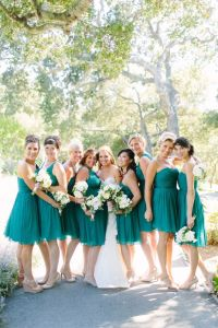 25+ best ideas about Peacock Bridesmaid Dresses on ...