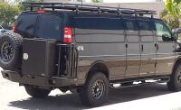 17 Best images about Chevy Vans with Aluminess bumpers ...