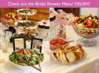 Bridal shower menu ideas | Bridal Shower | Pinterest ...