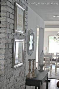 17 best ideas about Painted Brick Walls on Pinterest