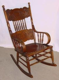old oak rocker | Rocking Chairs | Pinterest | Love this ...