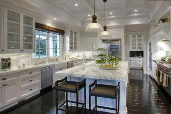 modern classic kitchen design modern classic kitchen | Kitchen | Pinterest | Modern classic, Islands and Marbles