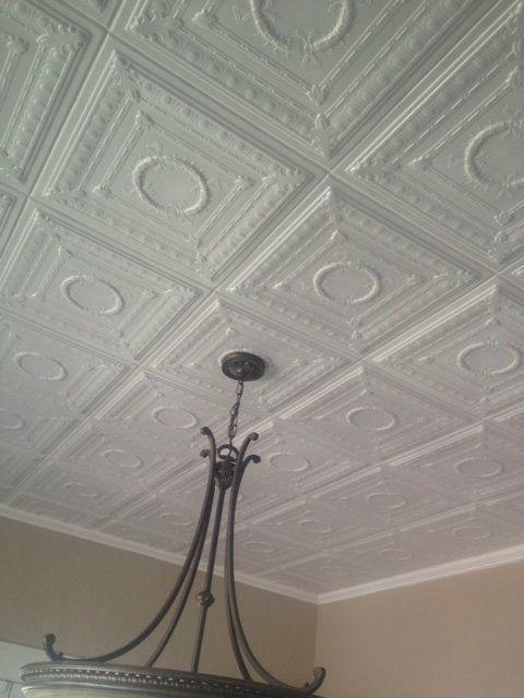 Styrofoam Ceiling Tile