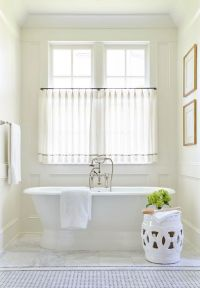 25+ best ideas about Bathroom window curtains on Pinterest