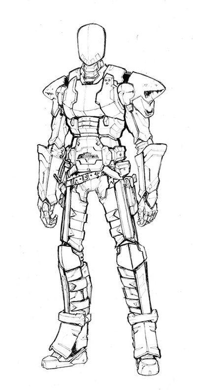 189 best images about Science Fiction Battle Armor