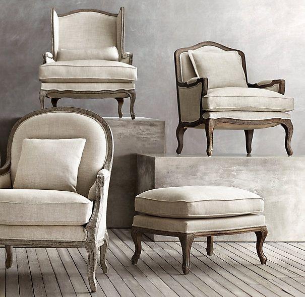 restoration hardware marseilles chair antique oak desk wheels 17 best images about home: furniture & decor on pinterest | louis xvi, pillow covers and address ...