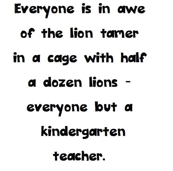 Happy National Kindergarten Day! Love to all the lion