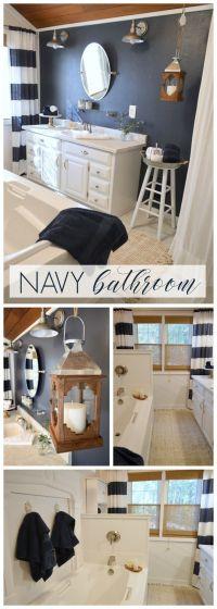 17 Best ideas about Navy Bathroom Decor on Pinterest ...