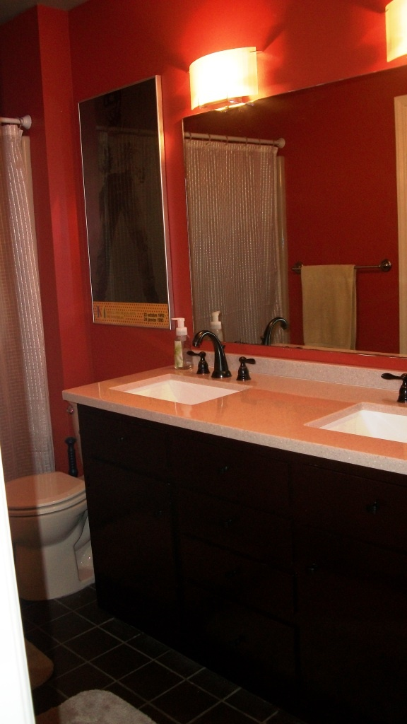 11 best images about Tan   Accent Wall Bathroom Ideas on Pinterest  Different types Orange
