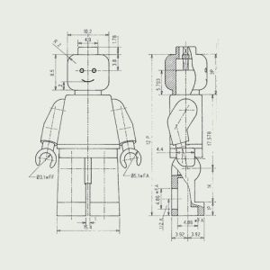 Claes Källarsson  Anatomy of a LEGO minifigure #toy #lego