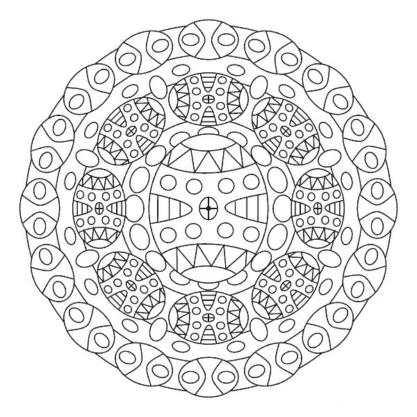 7 best images about mandalas for Easter on Pinterest