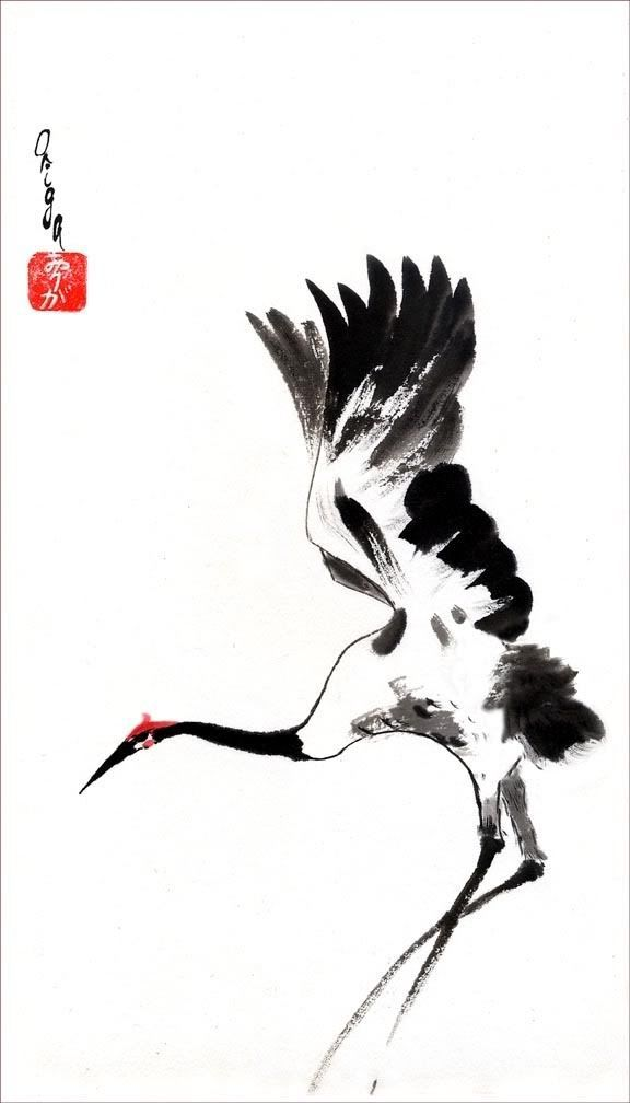 183 best images about Japanese Ink Painting on Pinterest