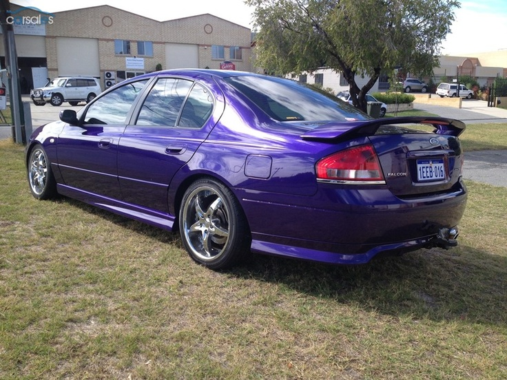 Purple Ford Falcon Ba