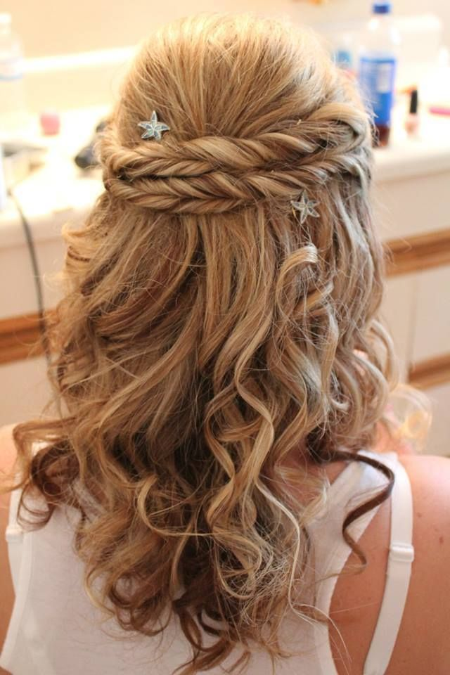 Beautiful Wedding Hair Do Using Lilla Rose Bobby Pins