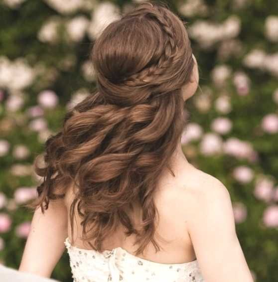 Die Besten 25 Frisuren Halboffen Ideen Auf Pinterest