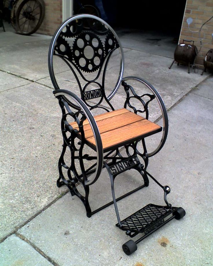 Old Singer Sewing Machine Chairs DIY Project Download
