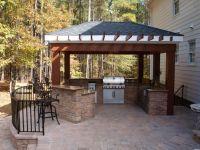 outdoor kitchen/bar   Hardscapes: Outdoor Kitchens ...