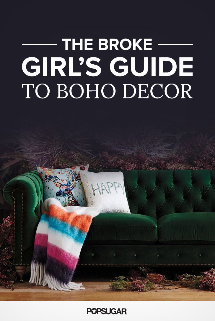 Boho decor can get pricey due to the prevalence of antique and handmade elements, but with a little help you can capture the