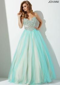 Aqua Blue Ballgown Prom Dress 27772 | prom dresses 2016 ...