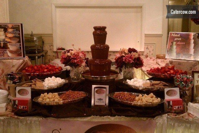 wedding chair rentals stool cheap chocolate fountain / caramel apple station cheese (up ...   bar