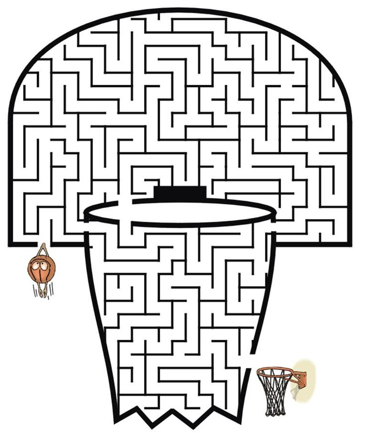 21 best images about Printable Fun Mazes on Pinterest