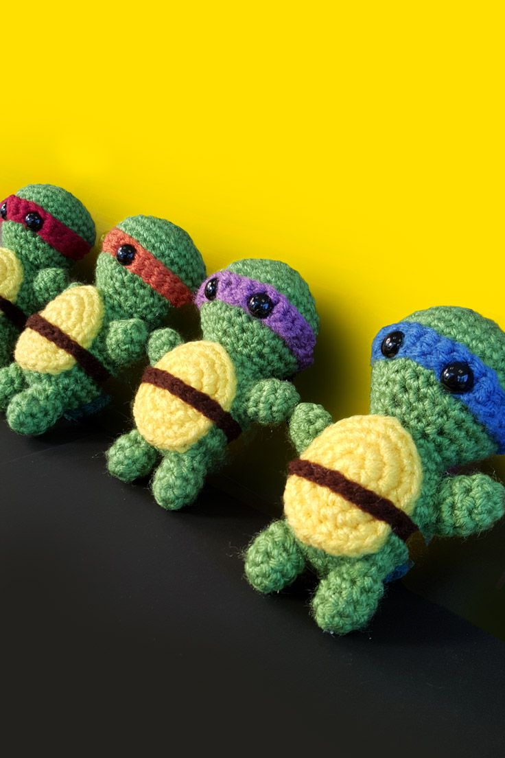 25 Best Ideas About Crochet Ninja Turtle On Pinterest