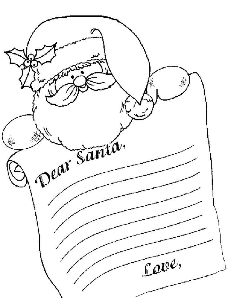 Santa Letterhead Template Invitation Templates puX6vdRX