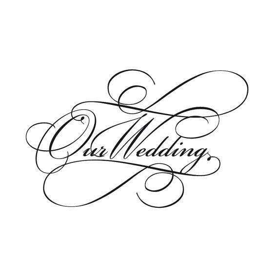 Script wedding invitation wording clip art in classic