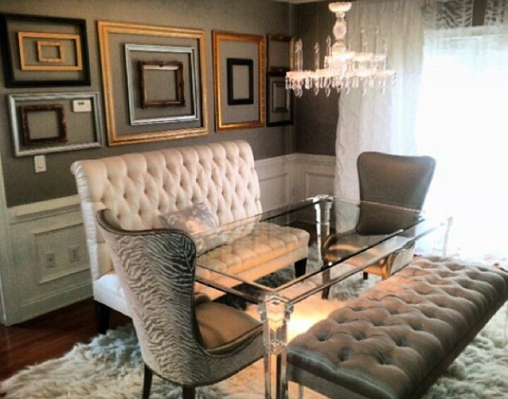 formal living room curtains simple indian interior design for love kenya moore's dining room! | dream home ideas ...