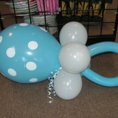 How To Make A Baby Shower Chair Tufted Parsons Dining Pacifier Balloon Sculpture. These Are Great Accents Hang From The Ceiling, Add ...