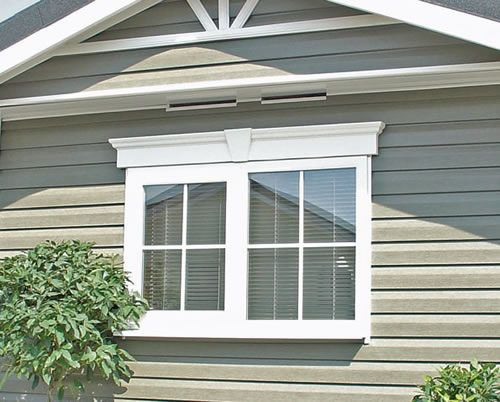 nice wonderful cool amazing creative outdoor window trim with double window concept design made of wood