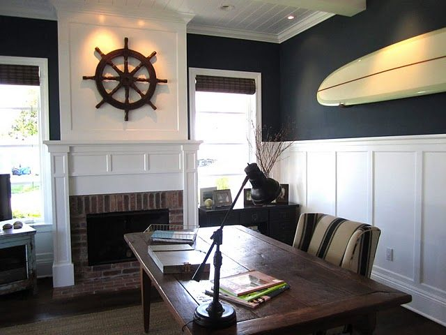Best 25 Nautical office ideas on Pinterest  Nautical bedroom Beach theme office and Nautical