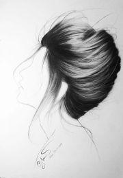 1000 drawing hair